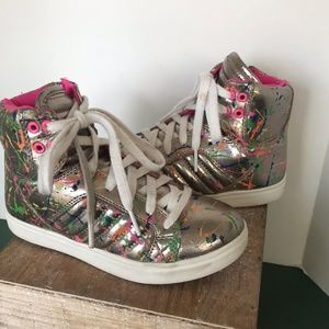 Stevies Hi-Top Girls Sneakers